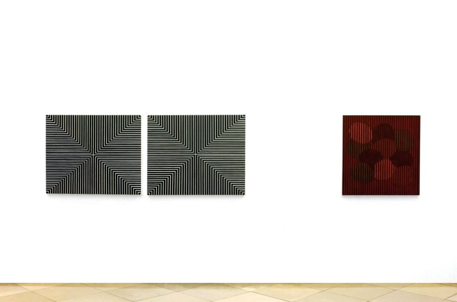 Ausstellungsansicht, Galerie Artmark, Wien