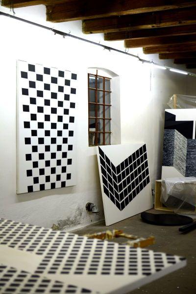 Studio view / Atelier Christian Eder, Vienna - Illmitz, Austria - AT