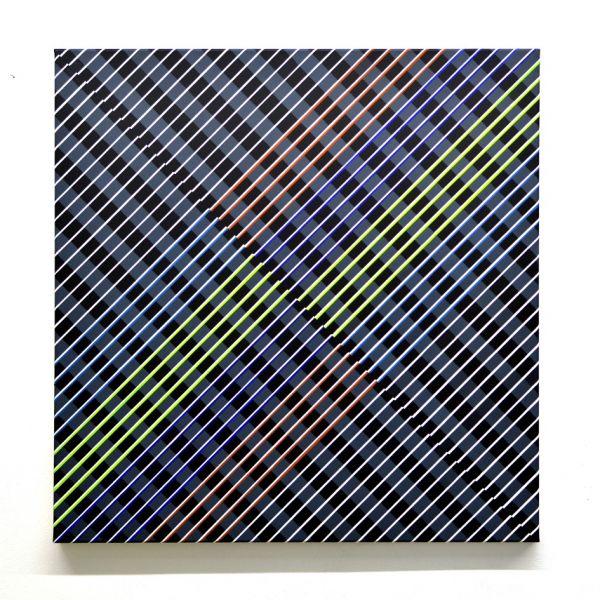 präzise ausgeführten Linien in farbiger ausführung und diagonal ausgelegt