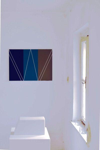 Ausstellungsansicht Illmitz, Ausstelung