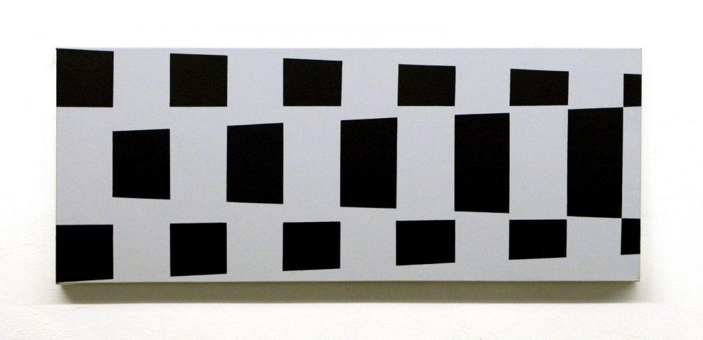 Reihe, 2019#Acryl auf Leinwand#110 x 50 cm