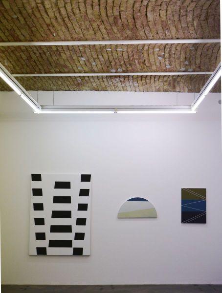 Christian Eder, Ausstellungsansicht, Galerie Lukas Feichtner, Wien