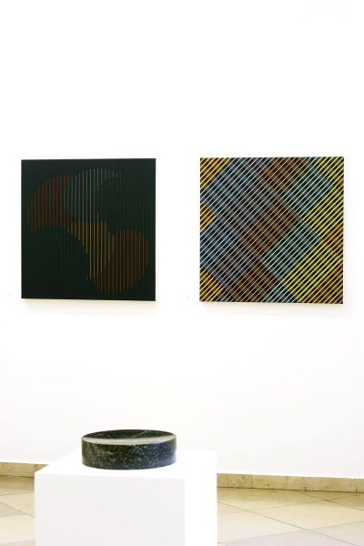 Ausstellungsansicht, Galerie Artmark Wien, Christian Eder, art