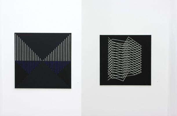 ausstellungsansicht-lineaturen-galerie artmark-vienna