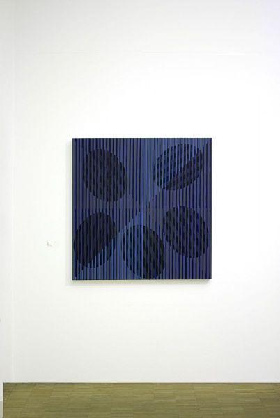 Blue-Ausstellungsansicht