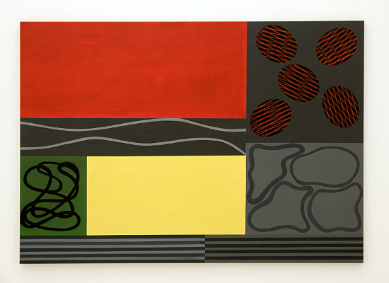 Ausstellung Christian Eder-Abstrakton-painting-parallele ordnungen