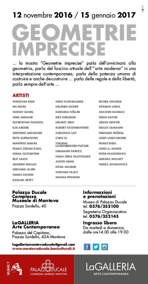 La Galeria Arte Contemporanea, Museo di Palazzo Ducale, Mantove (I)