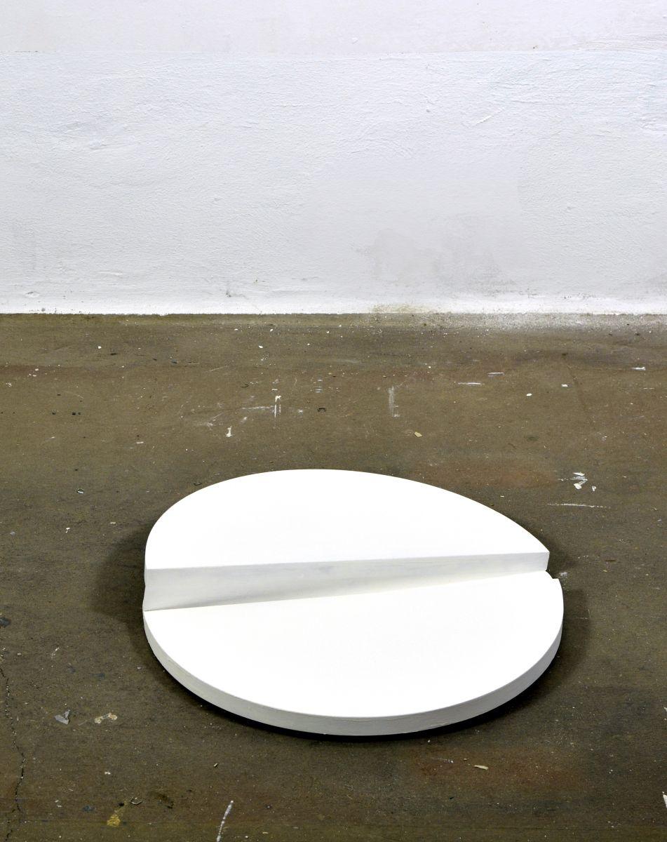 Objekt aus zwei Kreissegmenten, 2020#65 x 65 cm