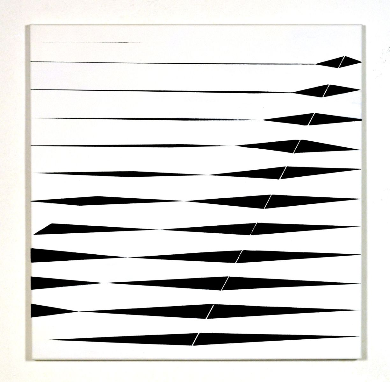 Black and white diagonals-exhibition lower austria