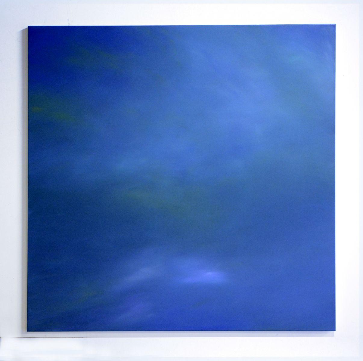 Blue - Christian Eder - Malerei auf Leinwand